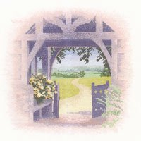 Lych Gate by John Clayton - Outlooks - Heritage Stitchcraft #HCK